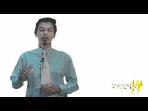 Kursus Intensif LAW OF UNIVERSAL ATTRACTION(LUA) - Tuan Zuhairi Nopiah (part 2)