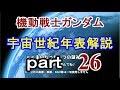 【機動戦士ガンダム】ゆっくり 宇宙世紀 年表解説 part26