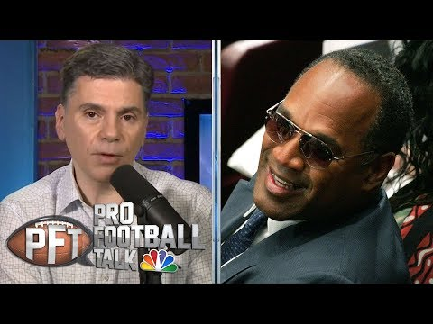Andre Reed Thinks O.J. Simpson's Number Should Stay Retired | Pro Football Talk | NBC Sports