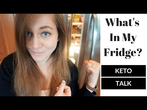 Keto Talk -  What's In My Fridge? - My Keto Staple Food Items