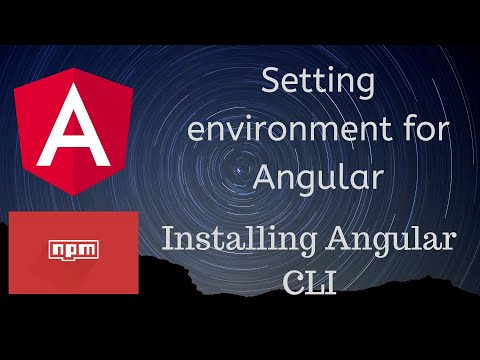 Angular 8 Tutorial #1 | Setting up Angular Cli on Desktop| Learning while Making Projects thumbnail