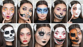 10 LAST MINUTE HALLOWEEN MAKEUP IDEAS!
