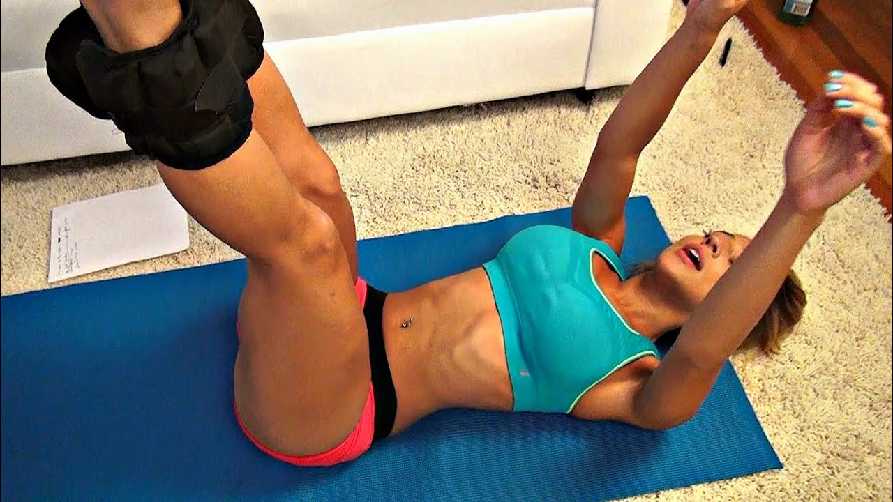 How to slim down abs fast