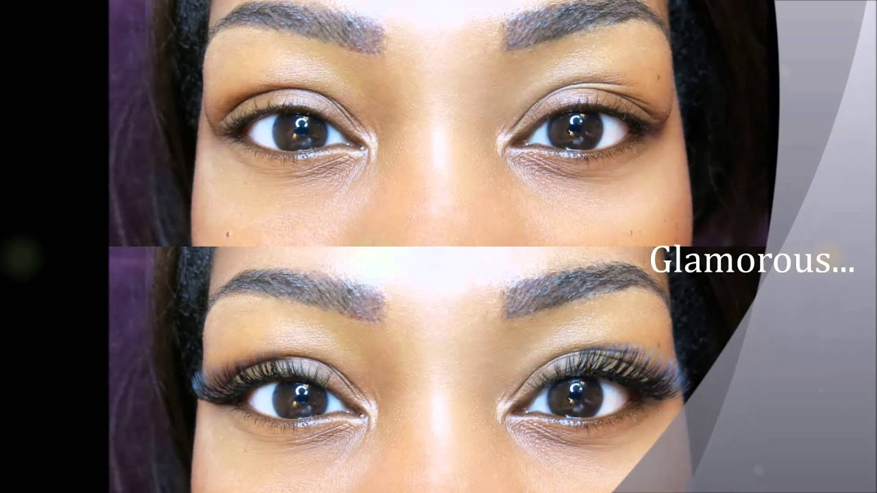 how to clean eyelash extensions youtube