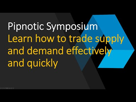 The core Pipnotic supply and demand trading strategy explained