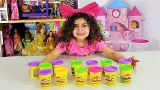 Sally play DON'T CHOOSE THE WRONG PLAY DOH SLIME CHALLENGE!!