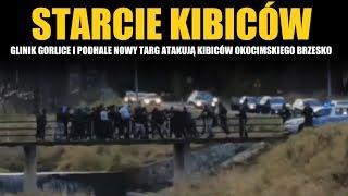 Starcie Glinika Gorlice i Podhala Nowy Targ z kibicami Okocimskiego Brzesko 03.11.2019