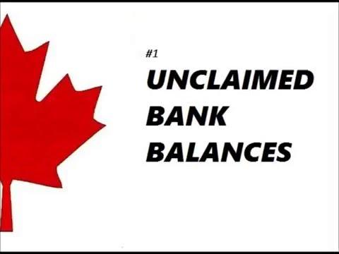 #1 Unclaimed Bank Balances