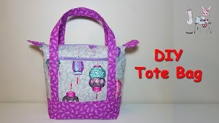 # DIY Tote Bag   Handbag   Sewing tutorial
