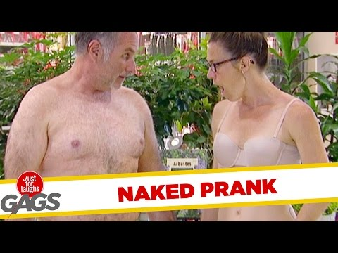 Naked Survey Prank! - Just For Laughs Gags