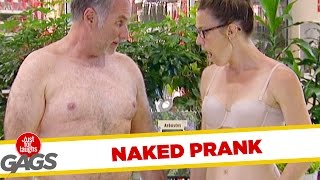 Naked Survey Prank! - Just For Laughs Gags thumbnail