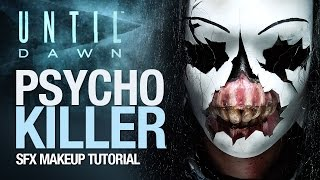 Until Dawn psycho killer Halloween tutorial