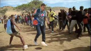 PEPSI comercial football 2010 - HD - oh africa - messi, henry, kaka', lampard, arshavin & drogba