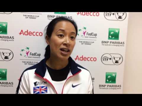 Anne Keothavong GB v Romania Fed Cup preview