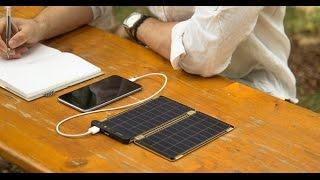 #شيء_تك: Solar Paper شاحن يعمل بالطاقة الشمسية وبسمك الورقة