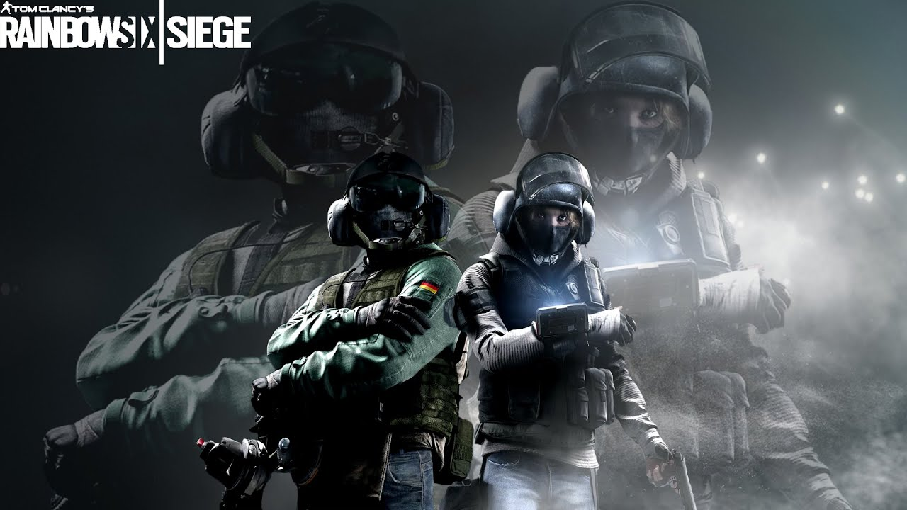 Rainbow Six Siege Gameplay Jager/IQ Character