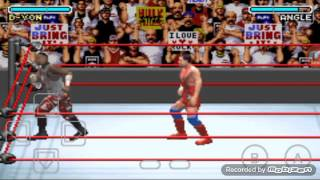 WWE Road To Wrestlemania X8 (D-Von VS Kurt Angle)-#1