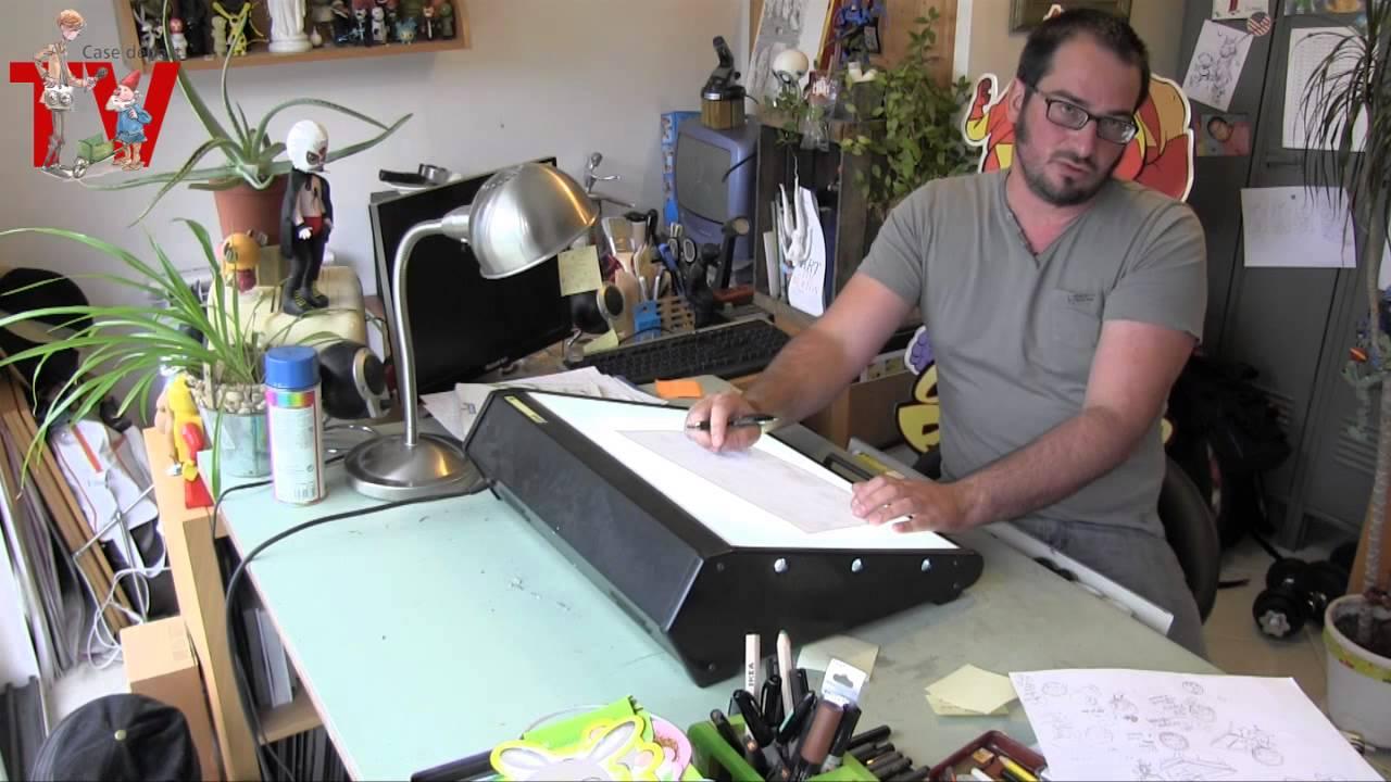 Dans l 39 atelier de micka l roux partie 3 a la table - Table lumineuse dessin ikea ...
