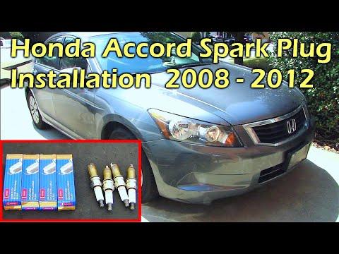 How To Install Spark Plug Honda Accord 2008 – 2012