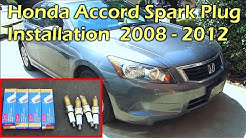 Honda Accord Spark Plug Installation 2008 - 2012