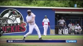 Rouen capitale du baseball