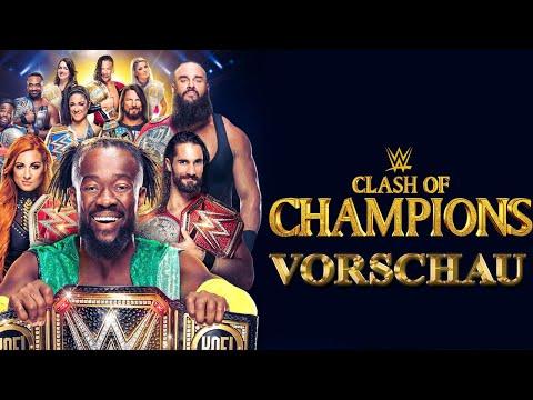 WWE Clash of Champions 2019 VORSCHAU / PREVIEW