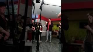 Команда ревизора, во главе с новым ведущим Николай Тищенко в бургер клабе Burger ClubРевизор