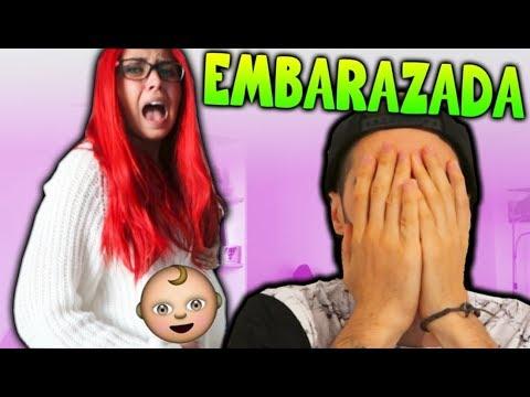 ESTOY EMBARAZADA!! BROMA A MAKIMAN (CAMARA OCULTA) 😱
