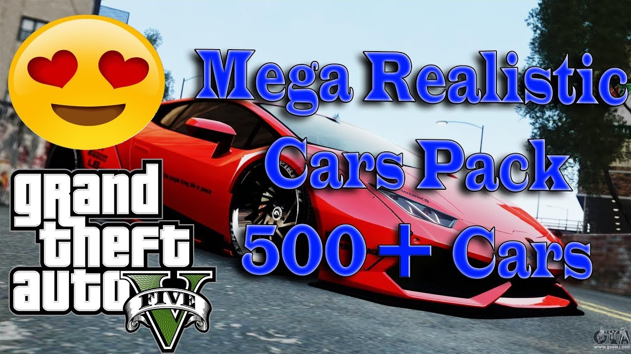 How to Install Mega Realistic Cars Pack 4 0 Mod In GTA 5 | 500 + Real Life  Cars ! Best Mod For GTA 5