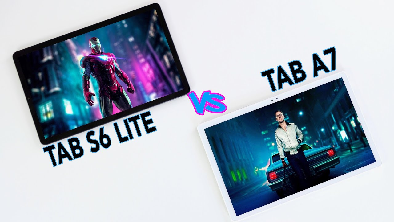Samsung Galaxy Tab A7 vs Tab S6 LITE REVIEW & COMPARISON - Which is best?