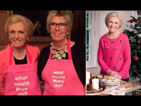 Mary Berry and Prue Leith unite to cook Christmas lunch