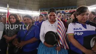 Bolivia: MAS select exiled leader Evo Morales as campaign chief