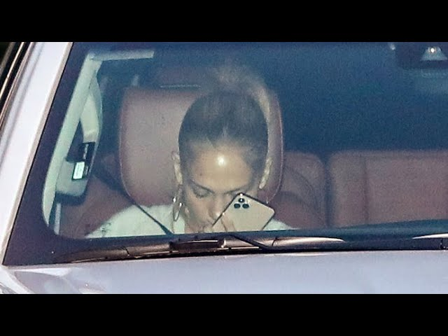 Jennifer Lopez Is Sad To See Ben Affleck Go Before He Leaves Town