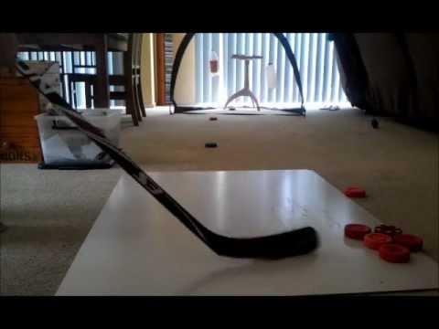 Hockey Shots -  Easton S3 (sakic) Vs Reebok 3.0.3  (Spezza)