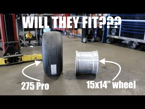 Can You Put A Pro  275 Drag Radial  In A 14