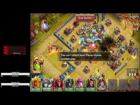 Castle Clash: Guild Wars With 3 Accounts