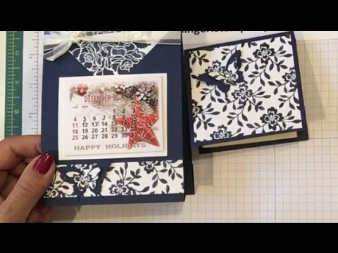 Calendar and Post It Note Holder Giftable Project