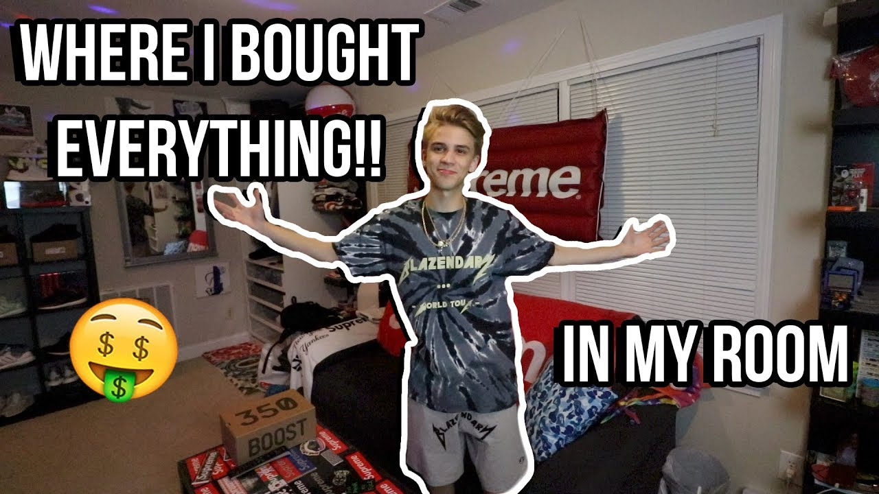 Where I Bought Everything In My Room Hypebeast Heaven