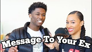Message To Your Ex || Public Interview College Edition