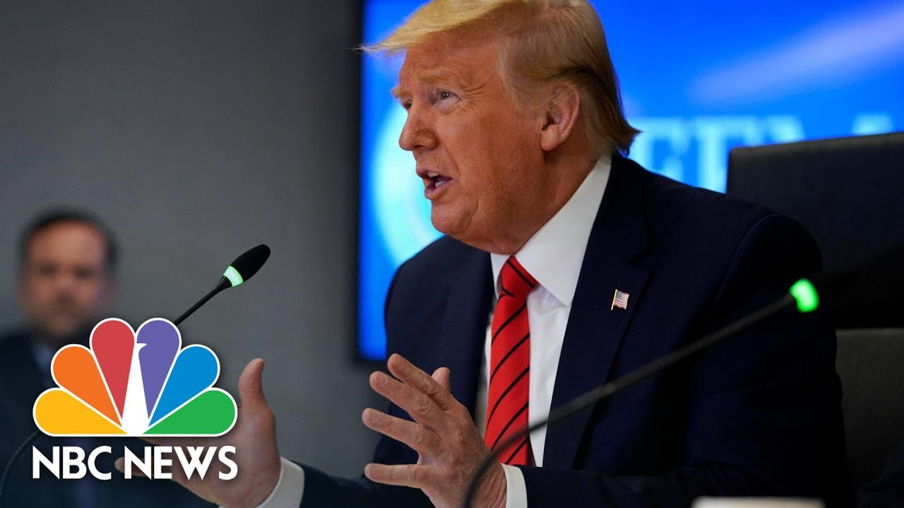 Trump Tells Mass. Governor To Acquire Face Masks Without Federal Help | NBC News NOW