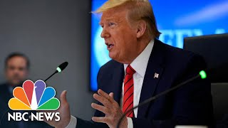 Trump Tells Mass. Governor To Acquire Face Masks Without Federal Help   NBC News NOW