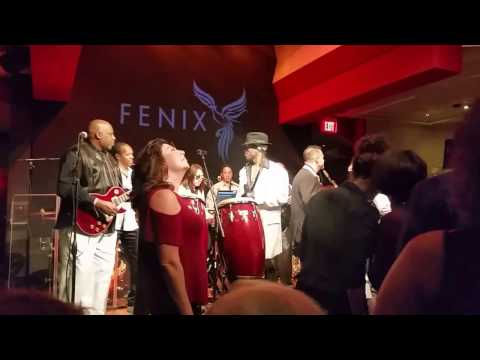 SUN GODDESS ---  Kalimba The Spirit Of Earth Wind and Fire.. Fenix Supper Club