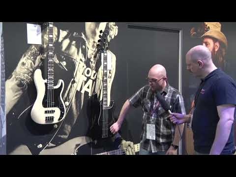 NAMM Show 2019   Fender  Signature Duff McKagan