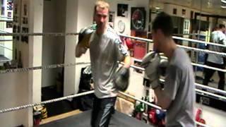 Ian Wilson Boxing Padwork