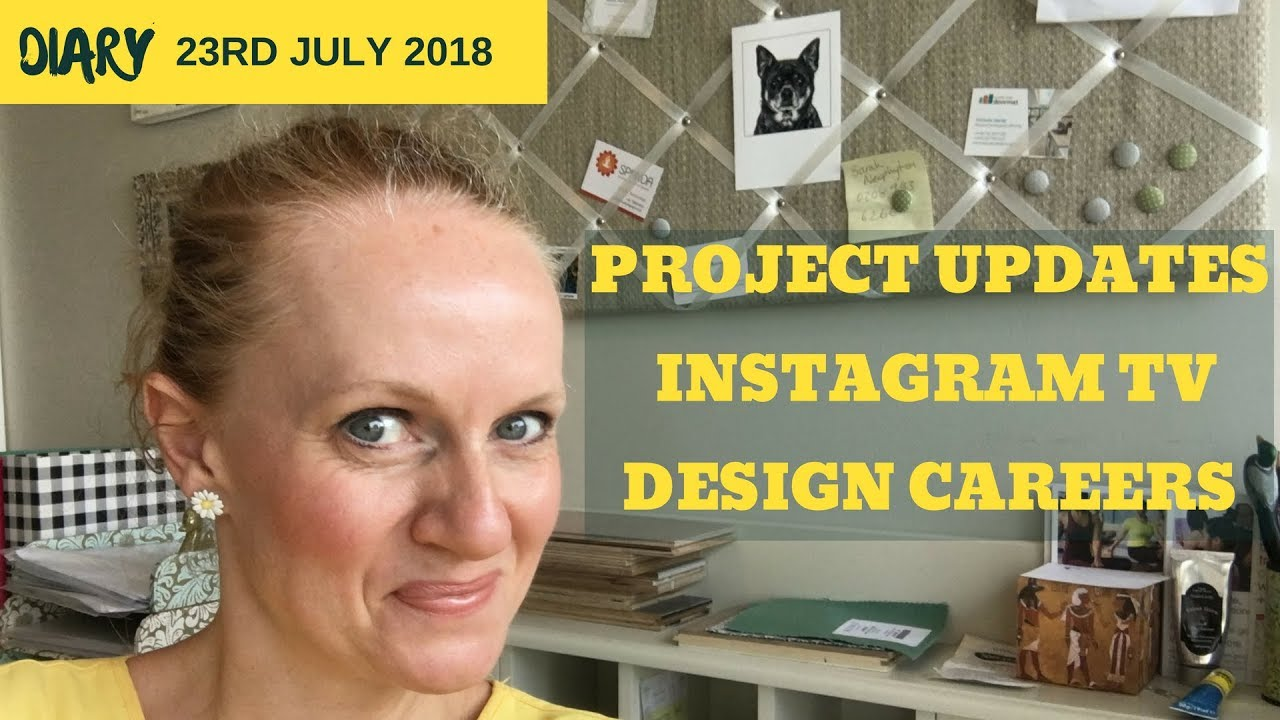 PROJECT UPDATES, IGTV AND INTERIOR DESIGN CAREER OPTIONS