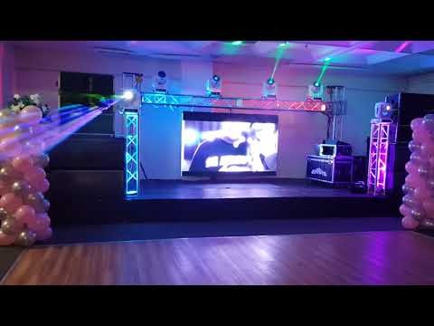 Seismic Audio SALA-210 Line Array Speaker  y  los bajos peavey