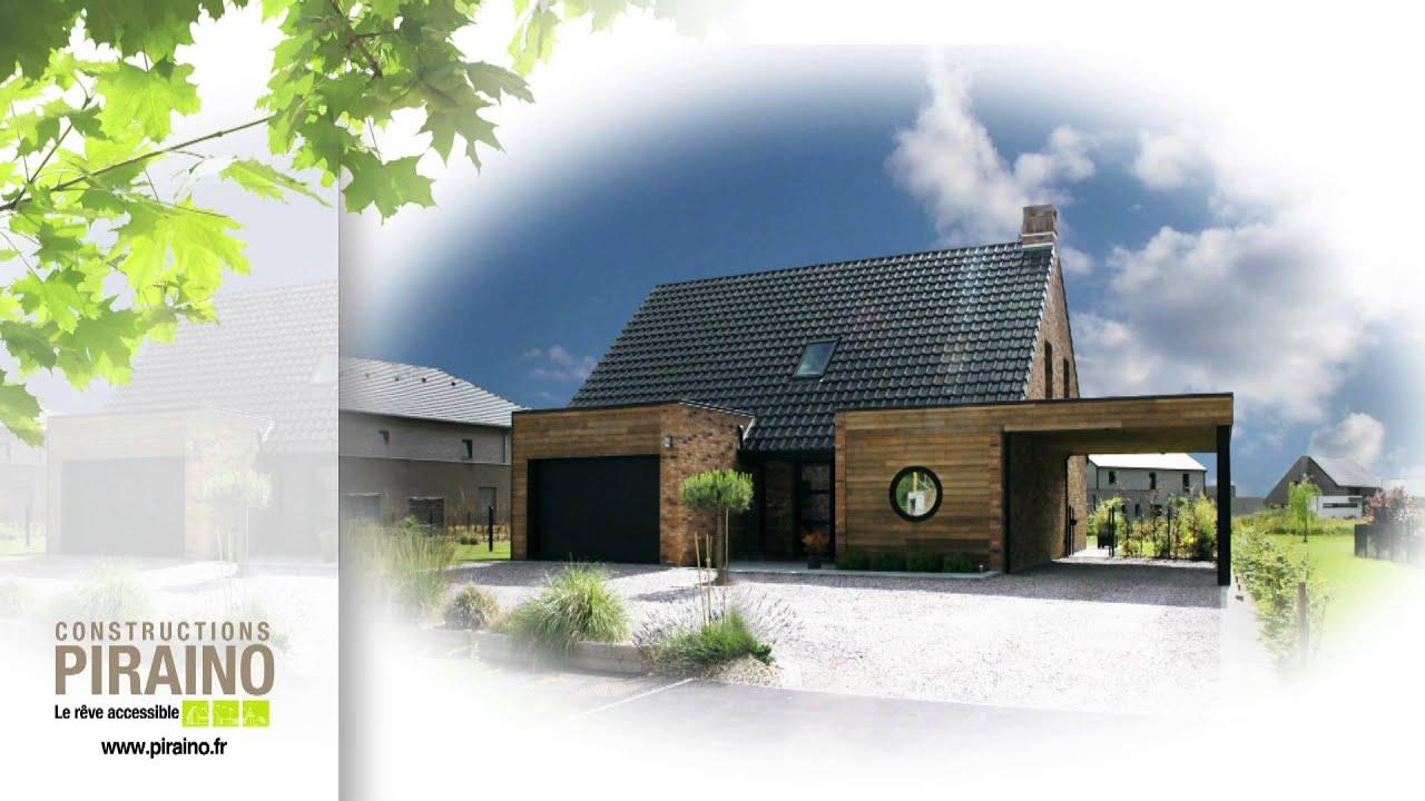 Pr sentation constructeur de maison individuel piraino for Constructeur individuel de maison