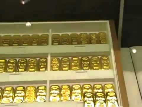 Gold Bullion At Duty Free Shopping In Dubai Airport See Prices From 2009 Youtube