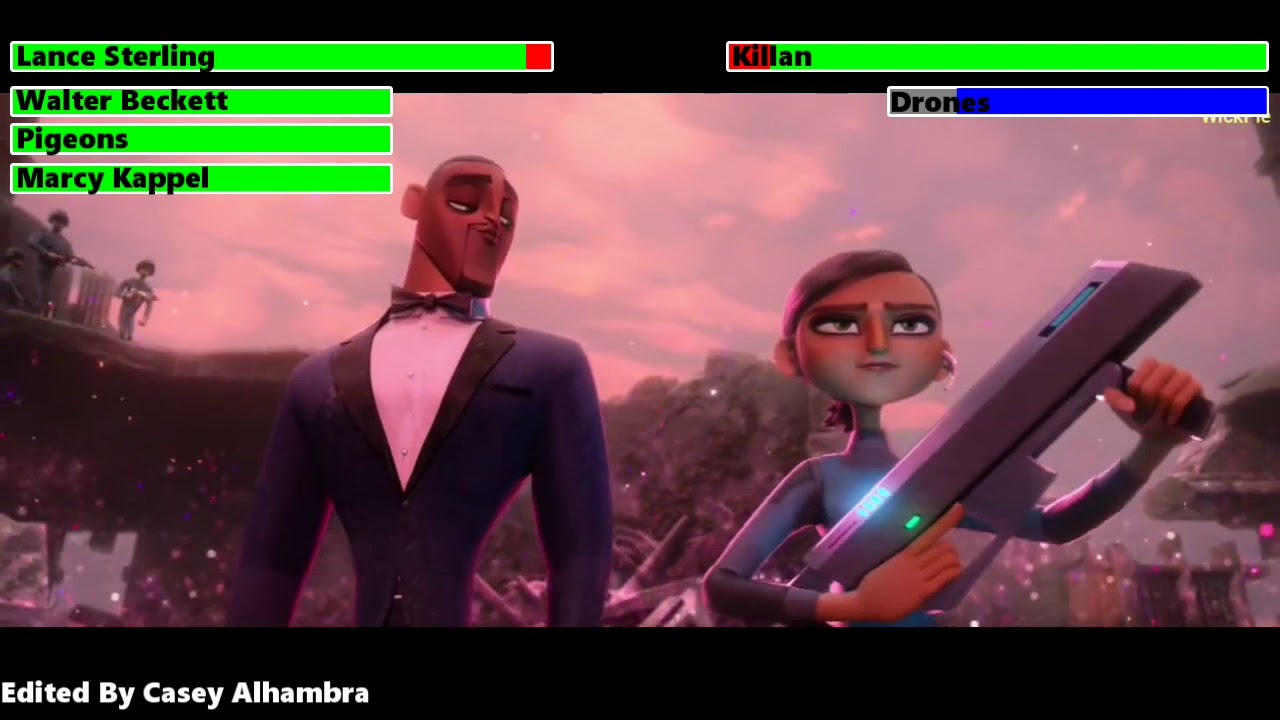 Download Spies in Disguise (2019) Final Battle with healthbars 1/2