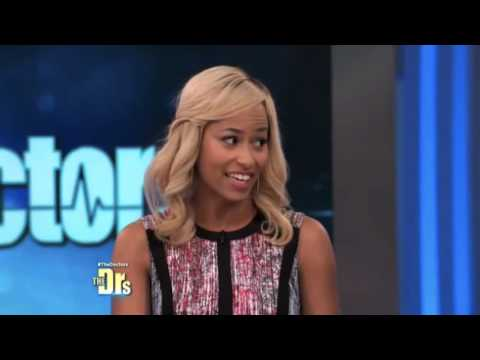 Banana Girl diet causes a stir on the Doctor's show!